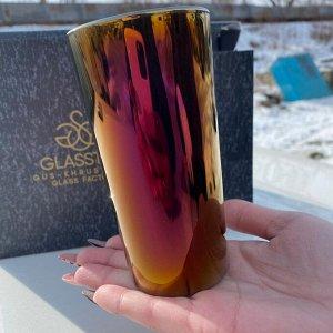 Набор стаканов Glasstar Радуга Королевская фуксия  / 6 шт. 230 мл