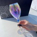 """Набор фужеров Glasstar """"Лиловая дымка"""" SL / 6 шт. 210 мл"""
