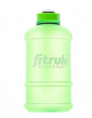 Бутылка-шейкер FitRule (прорезиненная) - 1,3 л