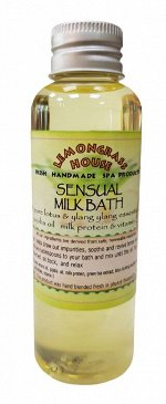 Молочная ванна «Пробуждение чувств» 120мл  Lemongrass House