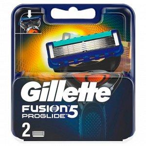 FUSION ProGlide Сменные кассеты для бритья 2шт