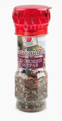 Балкан MIX — приправа из 12 овощей и трав ТМ «Вокруг Света»