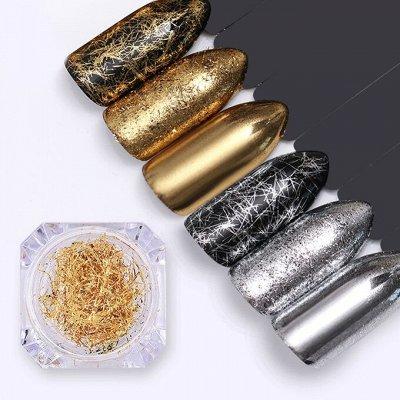 TNL Professional от официального поставщика. ПРОМО Акция🌸    — Фольга для литья — Дизайн ногтей
