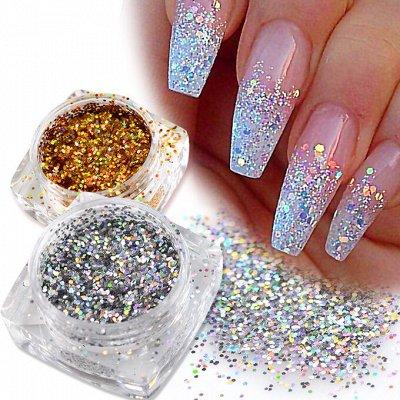 TNL Professional от официального поставщика. ПРОМО Акция🌸    — Блестки — Дизайн ногтей