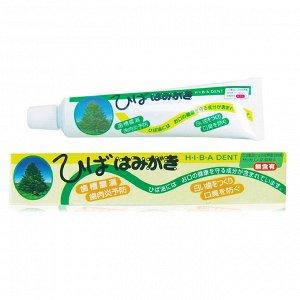 """001057 """"Fudo Kagaku"""" """"Hiba Dent"""" Зубная паста д/чувствительных зубов с растит. экстрактами 80г 1/36"""