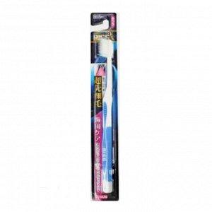 """008300 """"EBISU"""" Зубная щетка (с утонченными кончиками и прорезиненной ручкой. Средн. жёстк.), 1/360"""