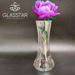 Ваза Glasstar Радужное напыление / 250 мм