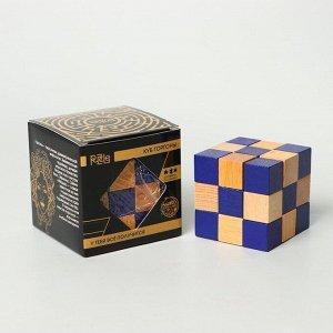 Головоломка деревянная Игры разума «Куб Горгоны»