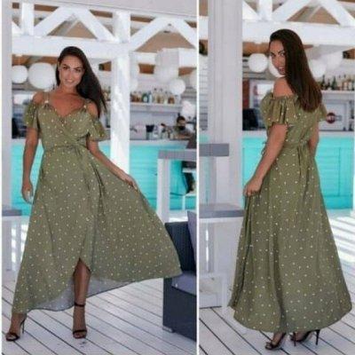 Мода размера plus size. Женская одежда, размеры до 70! — Платья до 64 размера — Повседневные платья