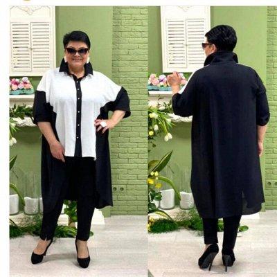 Женская одежда@Большие размеры в наличии — Туники и кофточки — Туники