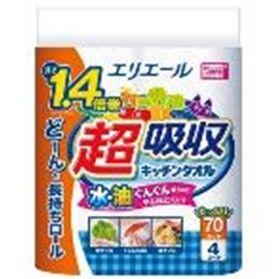 724004 Elleair экстра впитывающие кухонные полотенца 4шт.