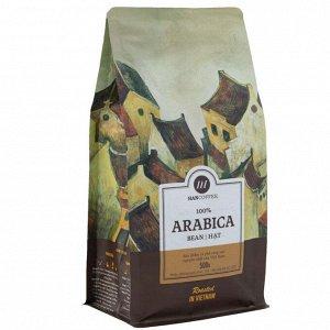 Кофе в зернах, 500 г - Standart Arabica Зерно