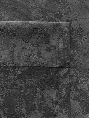 Комплект штор  оттенка графит: 2 шторы по 200 см