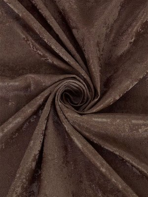Комплект штор оттенка шоколад  : 2 шторы по 150 см