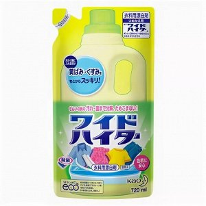 Отбеливатель для цветного белья Wide Haiter сменная упаковка 720 мл.