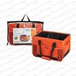 Органайзер Airline в багажник, оранжевый цвет, размер 400x300x280мм, с ручками для переноски