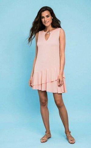 Платье летнее  розовый (60334-1)