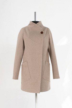 Пальто Длина по спине: 80 см. Длина рукава от шва : 66 см. Ткань: Пальтовая, Подкладка: Полиэстер. Вид застежки: Пуговицы.