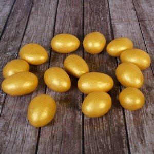 Миндаль в белой шоколадной глазури  Золото