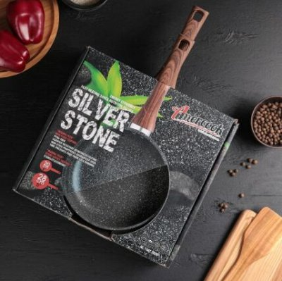 Любимые сковородки AMERCOOK от 549 рублей - 2⚡  — Набор сковород Amercook Silver stone — Сковороды