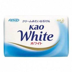 """232045  KAO """"White Normal"""" Кусковое крем-мыло с ароматом белых цветов цветов, 85гр,"""