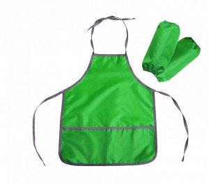 Фартук и нарукавники (ФН1/З зеленый)