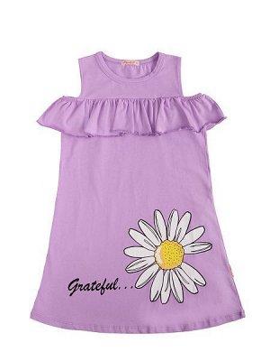 Платье - сиреневый цвет