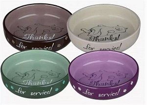 "Миска керамика ""Thanks for Service"", 0,300 л/11 см"