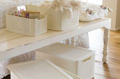 Столы и стулья для уюта Вашего дома! Есть новинки! — Создаем порядок. Корзинки пластиковые для хранения — Системы хранения