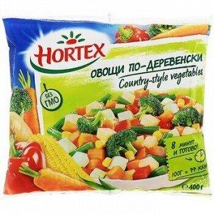 Овощи по-деревенски, Хортекс, 400 г, (12)