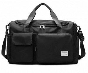 Спортивная сумка, цвет черный