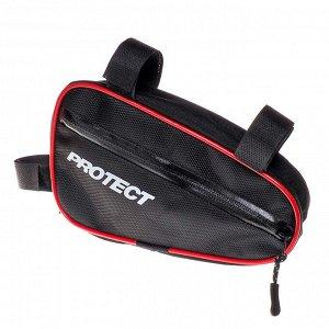 Велосумка под раму, р-р 23х12,5х5см, PROTECT™ 555-530