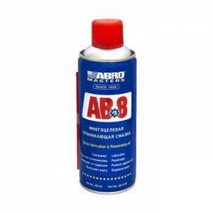 "Смазка ""ABRO Masters"" многоцелевая проникающая, аэроз. 450 мл."