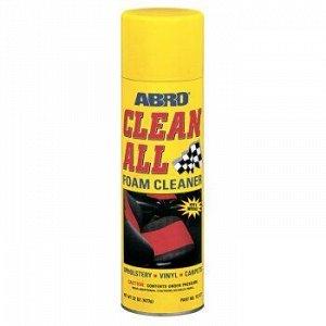 """Пенный очиститель универсальный """"ABRO"""" Clean all, аэроз. 623 гр (1/12 )"""