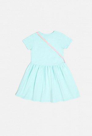 Платье детское для девочек Dominika светло-бирюзовый