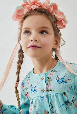 Ободок для волос детский Banteer светло-розовый
