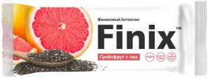 Финиковый батончик Finix с грейпфрутом и семенами чиа