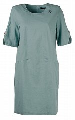 Женское платье миди с карманами размер 54, 56, 58, 60