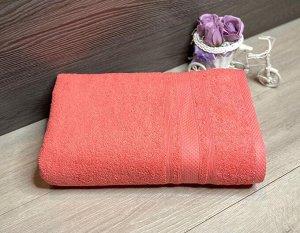 Полотенце махровое Ромб 40*70 Коралл