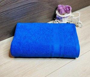 Полотенце махровое Ромб 50*90 Синий