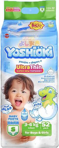 Трусики-подгузники YOSHIOKI, р.S 3-6 кг 52 шт*