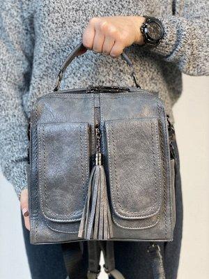 Сумка-рюкзак женская (качественная эко кожа)