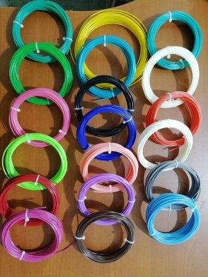 Пластик ABS к 3 Д ручке 19 цветов по 10 метров