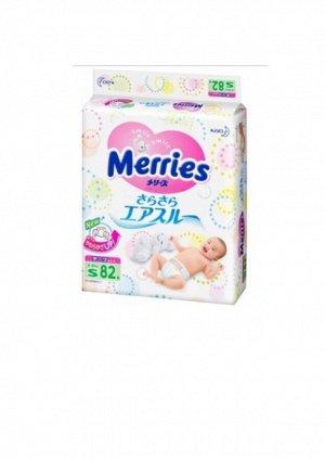 Подгузники для детей Merries  S 4-8/82шт