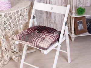 Подушка для стула Константа(бордо) 45*45