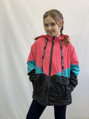 Куртка для девочки на флисе