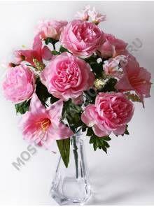 Искусственные цветы к родительскому дню