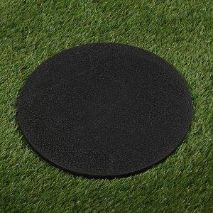 Мобильная садовая плитка-коврик, d = 30 см, резина, «Стрекозы»