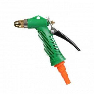 """Пистолет-распылитель, под шланги 1/2"""" (12 мм), 3/4"""" (19 мм), 5/8"""" (16 мм), пластик, алюминий, наконечник из латуни"""