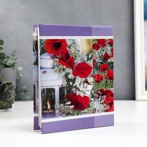 """Фотоальбом Fotografia на 200 фото, 10*15 см., """"Цветы"""""""